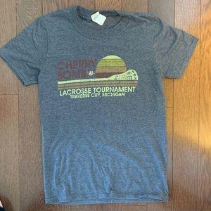 Michigan Lacrosse Graphic T-Shirt